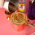 Colador Oruga Luxury Grande Dorado