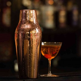 Coctelera Luxury Francesa 600ml 2 Piezas Cobre