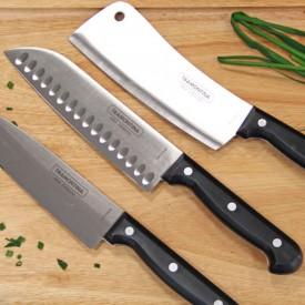 Cuchillo Deluxe Santoku 6 Pulgadas Tramontina