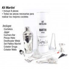 Kit Martini Coctelería