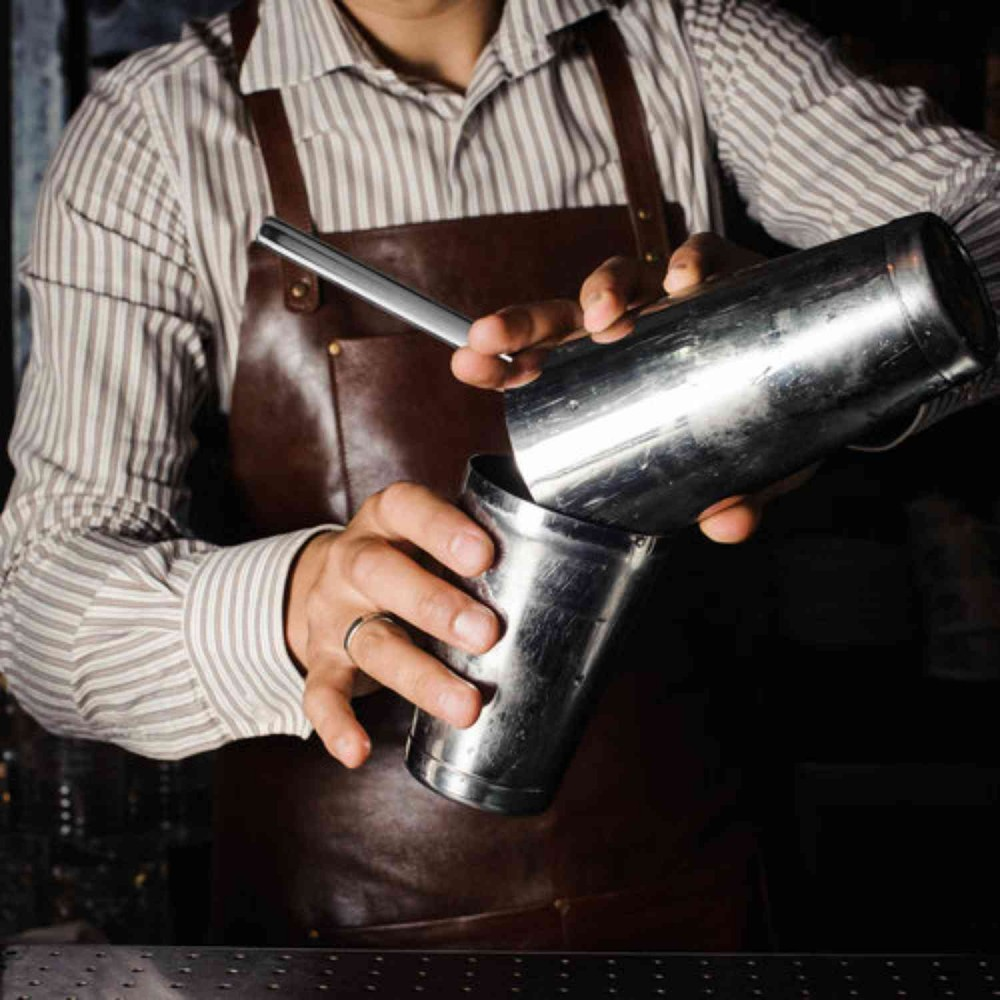 Coctelera Boston Luxury Piña® 28/18oz Contrapeso