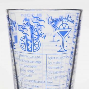 Vaso Boston Vidrio Recetas Vodka