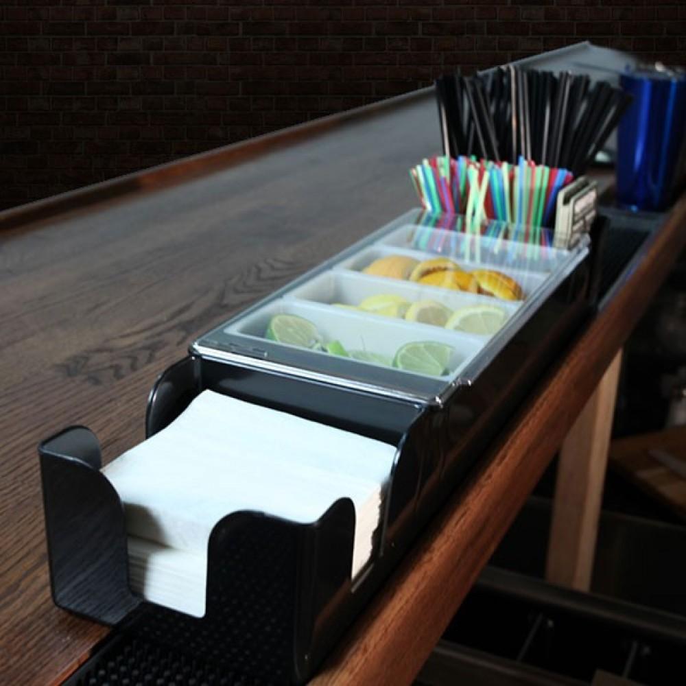 Organizador 2 en 1 Garnish y Caddie 60 cms 4 espacios