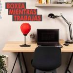 Juego Boxeo Mesa O Escritorio Anti Stress